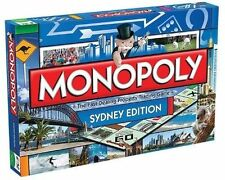 Monopoly Sydney Edition Board Game Authentic Version