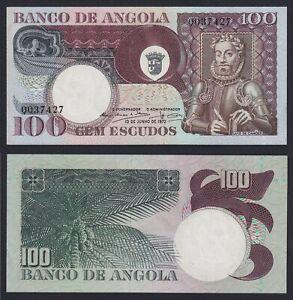 Angola 100 escudos 1973 FDS-/UNC-  A-10