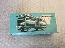 VINTAGE#Marklin HO Scale 315/4 Auto Transport Wagon Plastic Car Load#BOXED
