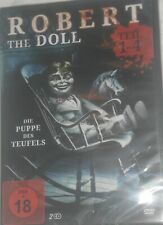 DVD Robert the Doll | Teil 1-4 | Horror | Puppe des Teufels | 300 Min Brandneu
