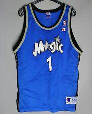 NBA ORLANDO MAGIC CHAMPION JERSEY SHIRT #1  BLUE SIZE XL (16-18) BOYS