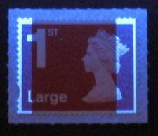 2018 - 1st Large - M18L - Single Stamp with Inset Right band + Short bands base