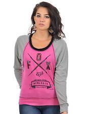 Fox Racing Women's Life Line Long Sleeve Guava Size XS