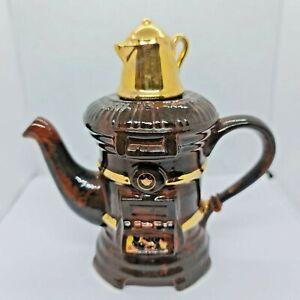 Tony Carter Wood Burner Design Tea Pot