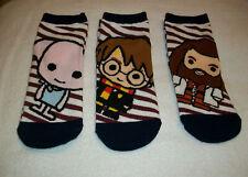 Primark Donna Harry Potter Hogwarts Scarpa Liner Trainer Socks-Nuovo di Zecca