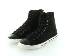 Converse All Star Chuck Taylor Hi Black Leather Suede Fancy Gr. 37,5 / 38,5