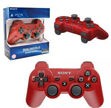 NEW Original Official Genuine Sony PS3 Wireless Dualshock 3 Controller - RED