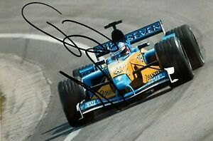 ***  JENSON BUTTON  -  RENAULT / RENAULT  -  SIGNED  -  F1  *** photo