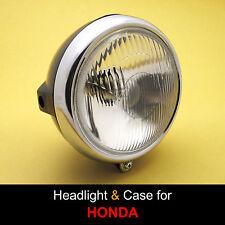 Honda MT125 MT250 MR175 MR250 CD125 CD185 CD200 T Headlight + Bucket Case + Rim