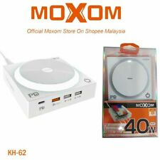 MOXOM KH-62 Fast Wireless Charging USB Hub 10W QC3.0 PD Supported