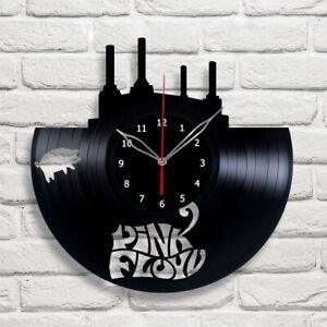 Vinyl Clock Pink Floyd Wall Clock Unique Art Vinyl Record Wall Clock 342