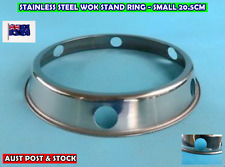 Stainless Steel New Wok Stand Rack Ring BBQ stand 20.5cm SMALL (A33-1)
