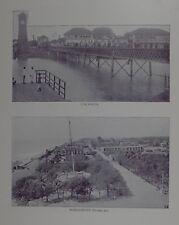 1895 INDIA PRINT -  COCANADA ~ PONDICHERRY