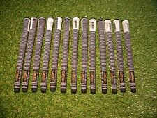 13 x Lamkin Crossline OVERSIZE Golf Grips (NEW) + Free Crossline Putter Grip
