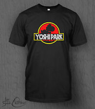 Nintendo Super Mario Yoshi T-Shirt Yoshi Park MEN'S Jurassic Park Smash Bros