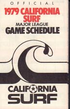 1979 California Surf Soccer Schedule jhhp