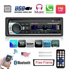 1 Din Car Radio MP3 Player Audio Auto Stereo FM Receiver USB Remote Control 12V