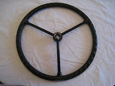 NEW - Allis Chalmers B, C, CA, RC - 3 Spokes Black Steering Wheel 16""