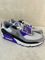 "Nike Air Max 90 ""Recraft Hyper Grape"" Women's Size 8.5 White Purple CD0490-103"