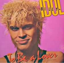 ++BILLY IDOL to be a lover/all summer single MAXI PROMO 1986 CHRYSALIS VG++