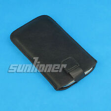 For Nokia Lumia 920 Leather Case Cover Sleeve Pouch with Pull Tab