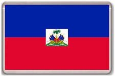HAITI FLAG FRIDGE MAGNET SOUVENIR IMAN NEVERA
