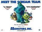 "Внешний вид - Monsters Inc movie poster : Walt Disney (Final Style) Jake & Sully - 12"" x 16"""