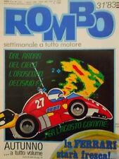 ROMBO 31 1983 Storia Ferrari - Oroscopo F1