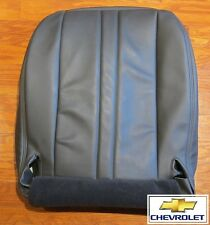 2003 2004 Chevy Express Cargo Van -Driver Side Bottom Vinyl Seat Cover DARK GRAY