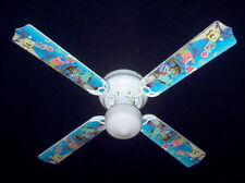 """SPONGE BOB Ceiling Fan w/Light  42""""  NEW!! patrick"""