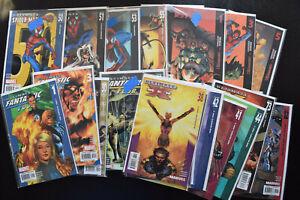 MARVEL ULTIMATE UNIVERSE HUGE 41 COMIC BOOK LOT! Spider-Man X-Men Fantastic Four