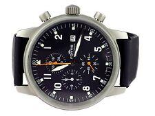 Fortis Schweiz 596 10.148 Stahl Quarz Chronograph Herren Armbanduhr 40 mm