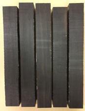 Schwarze Ebenholz Kantel %7c Black Ebony Piece %7c Tonewood %7c Tonholz %7c Drechselholz