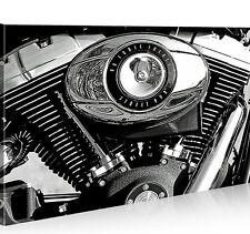 Bild auf Leinwand Harley Davidson 1p XXL Poster Leinwandbild Wandbild