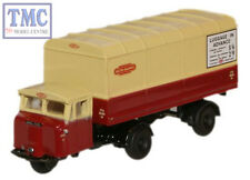 NMH014 Oxford Diecast N Gauge British Rail Scammell Mechanical Horse Van Trailer