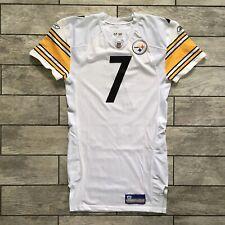2007 Reebok NFL Jersey Pittsburgh Steelers Ben Roethlisberger Team Game Issued