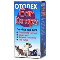 Petlife Otodex Veterinary Eardrops For Pet, 14ml - Ear Drops Wax Mites Dog Pet