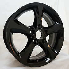 "17"" BMW 1 Series Style 256 OEM Wheel Rim Gloss Black 71246 36116778219"