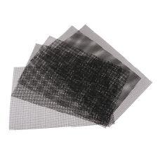 5 x Cuttable Plastic Plant Drainage Mesh Sheet Bonsai Pot Tools Mesh 30x20cm