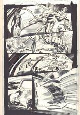 Convergence Suicide Squad #2 p.11 Cyborg Superman Action '15 art by Tom Mandrake Comic Art