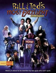 BILL AND TED'S MOST EXCELLENT COLLECTION NEW BLU-RAY