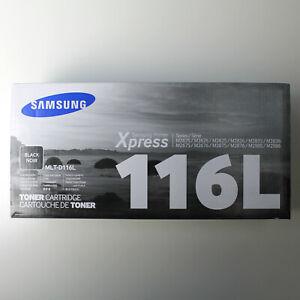 SAMSUNG Original Genuine MLT-D116L High Yield Black Toner Cartridge NEW/OPEN BOX