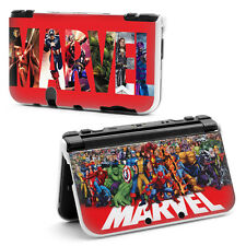 MARVEL SUPER HEROES (a) HARD CASE COVER PER NUOVO NINTENDO 3DS XL (FEB 2015 +)