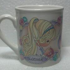 """1997 Precious Moments Enesco """"Teacher"""" ceramic Mug"""