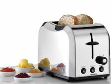 Heller Madison Series 2 Slice Toaster HM122-S Stainless Steel Silver