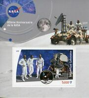Gabon Stamps 2019 MNH NASA 60th Anniv Space Apollo 11 Moon Landing 1v S/S