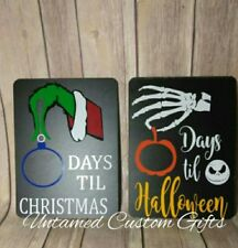 Countdown for Halloween & Xmas Jack skellington Nightmare before christmas