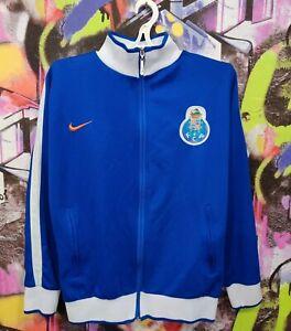 Porto FC Portugal Football Soccer Longsleeve Jacket Top Vintage Nike Mens size S