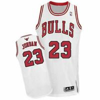 Michael Jordan #23 Chicago Bulls White Throwback Classic Swingman Jersey NEW