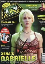 TV ZONE #136 - XENA - GABEIELLE COVER - RENEE O'CONNOR - CLEOPATRA 2525 - PRATT